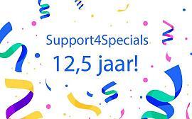 Support4Specials bestaat 12,5 jaar!